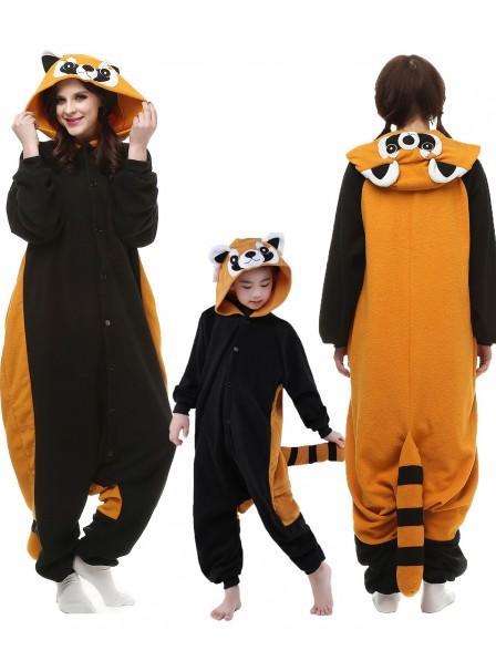Roter Panda Kigurumi Unisex Onesie Pyjamas Tier Kostüme für Erwachsene und Kinder