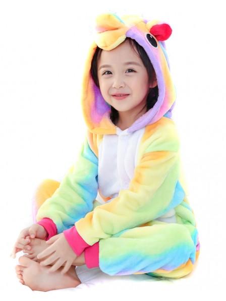Regenbogen Einhorn Pyjama Onesies Kinder Tier Kostüme Für Jugend Schlafanzug Kostüm