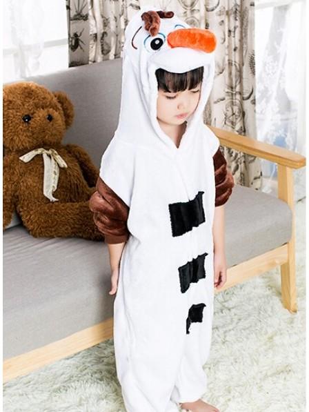 Olaf Pyjama Onesies Kinder Tier Kostüme Für Jugend Schlafanzug Kostüm