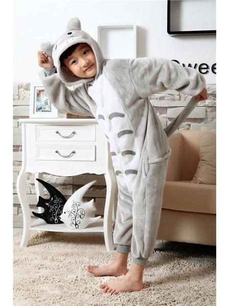 Totoro Pyjama Onesies Kinder Tier Kostüme Für Jugend Schlafanzug Kostüm