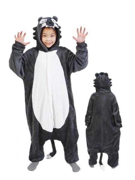 Wolf Pyjama Onesies Kinder Tier Kostüme Für Jugend Schlafanzug Kostüm
