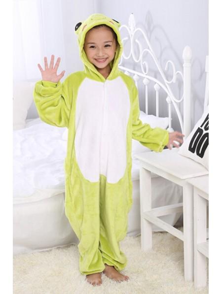 Frosch Pyjama Onesies Kinder Tier Kostüme Für Jugend Schlafanzug Kostüm