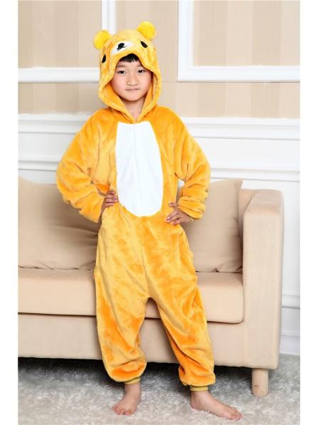 Rilakkuma Pyjama Onesies Kinder Tier Kostüme Für Jugend Schlafanzug Kostüm