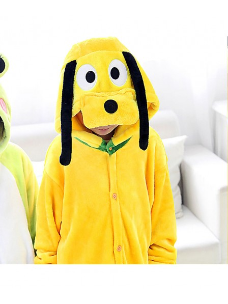 Goofy Dog Pyjama Onesies Kinder Tier Kostüme Für Jugend Schlafanzug Kostüm