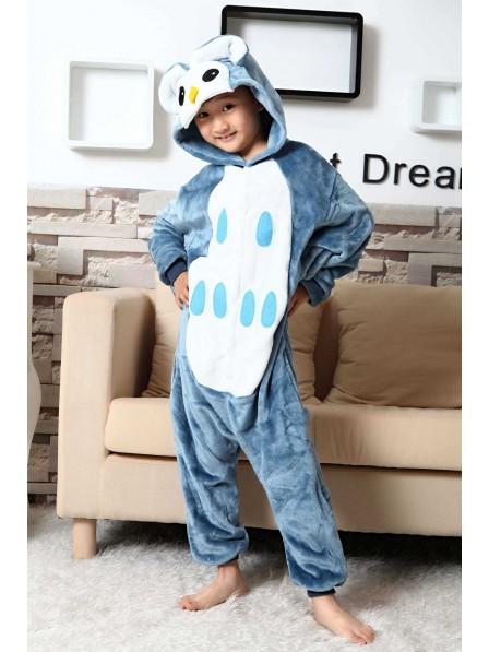 Eule Pyjama Onesies Kinder Tier Kostüme Für Jugend Schlafanzug Kostüm