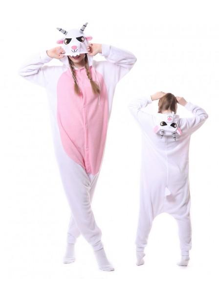 Ziege Pyjama Onesies Tier Schlafanzug Kostüm