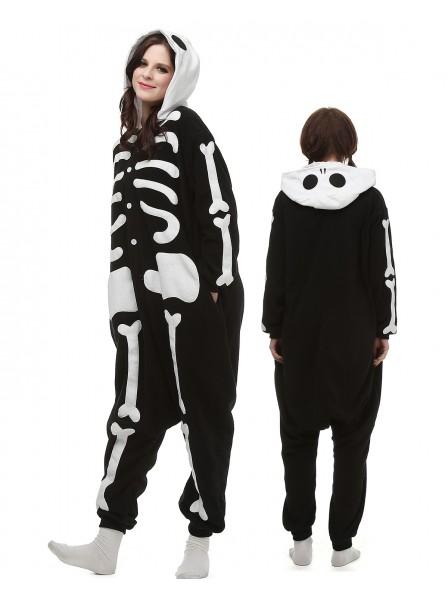 Skelett Pyjama Onesies Tier Kostüme Für Erwachsene Schlafanzug Kostüm