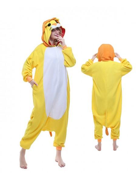 Löwe Pyjama Onesies Tier Kostüme Für Erwachsene Schlafanzug Kostüm