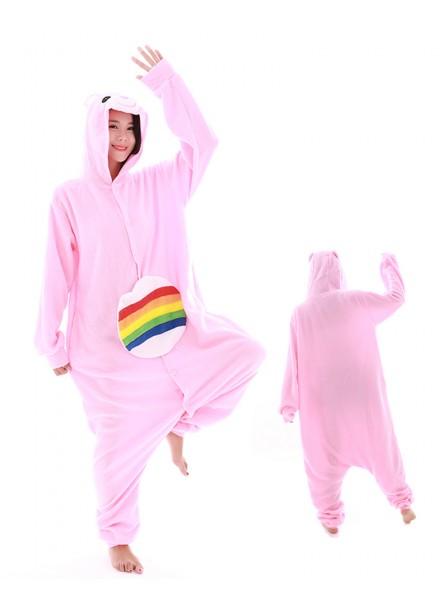 Regenbogen Bär Pyjama Onesies Tier Kostüme Für Erwachsene Schlafanzug Kostüm