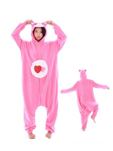 Love Bear Pyjama Onesies Tier Kostüme Für Erwachsene Schlafanzug Kostüm